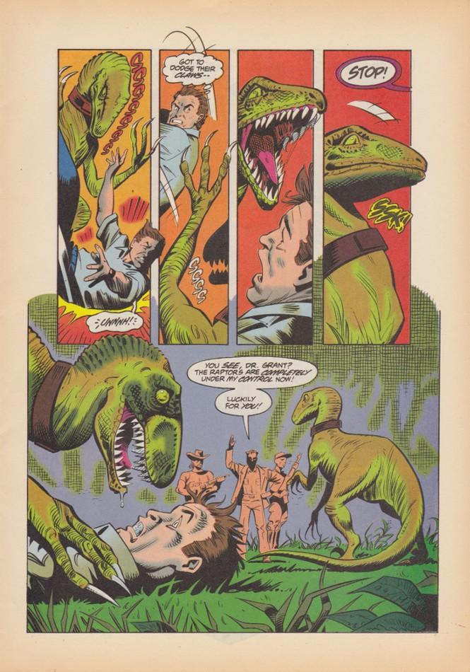 Jurassic Park Des Dinosaures En Bande Dessinee