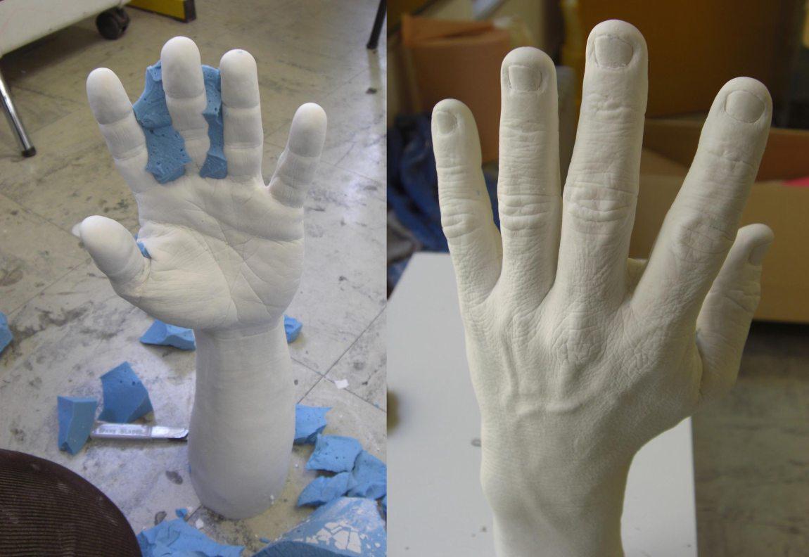 Fabrication d un faux bras en g latine effets - Faire un faux dossier de location ...