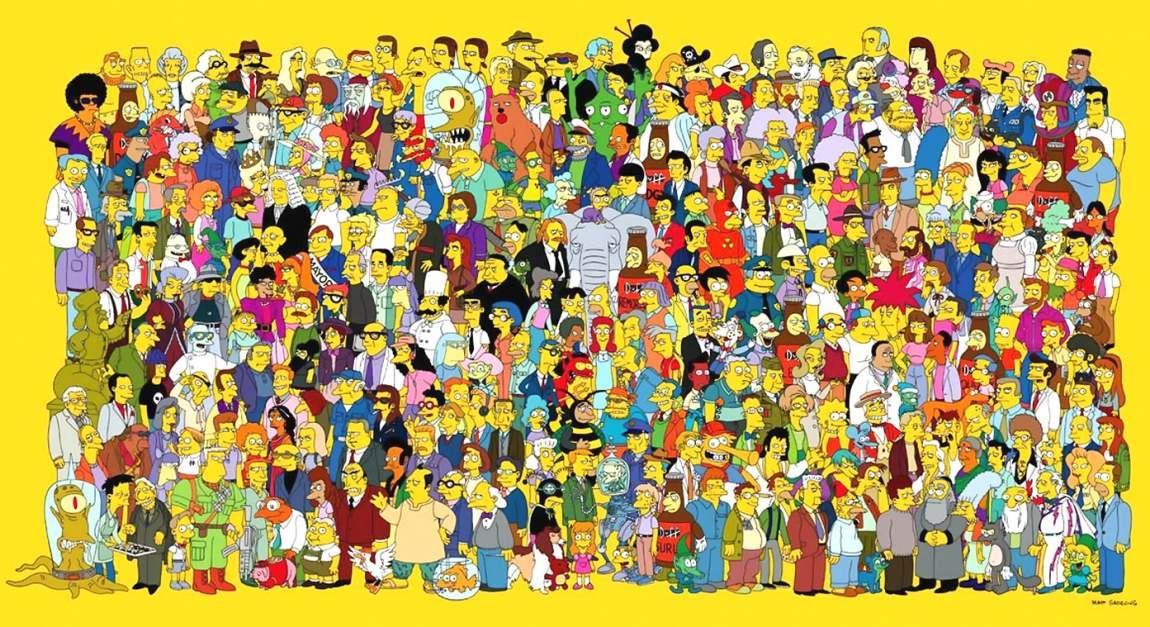 Matt groening tout sourit au cr ateur des simpsons - Tout les personnage des simpson ...