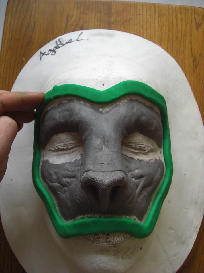 Tutorial moulage de sculpture pour tirage en mousse polyur thane et mousse de latex effets - Boudin piscine mousse polyurethane ...