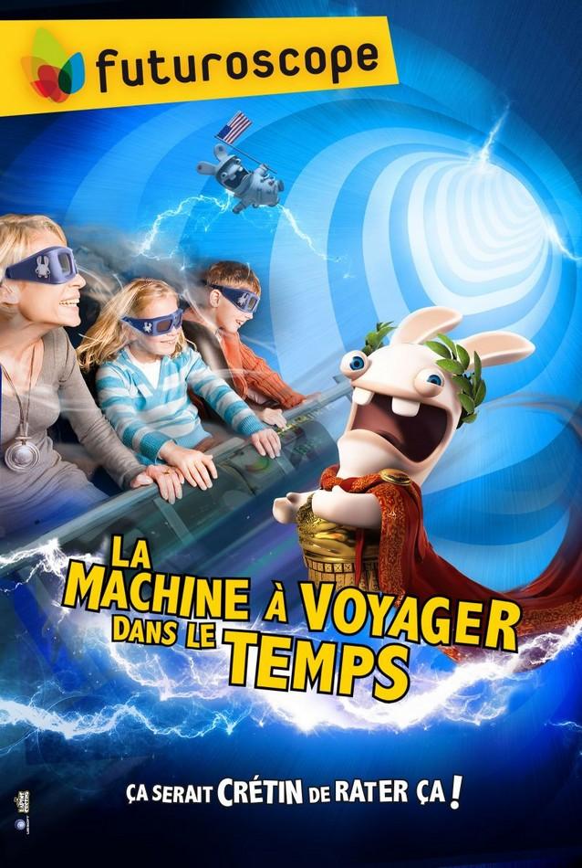 Le Futuroscope Invite Les Lapins Cretins A Voyager Dans Le Temps Meilleure Attraction Du Monde Effets Speciaux Info